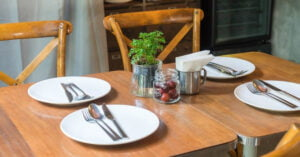 Productos para su mesa que son amigables con el medio ambiente